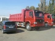 Продаю самосвалы Хово,  Howo,  в Омске ,  6х4 25 тонн ,  2300000 руб в наличии.